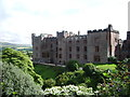 SD1096 : North east front of Muncaster Castle by Alexander P Kapp