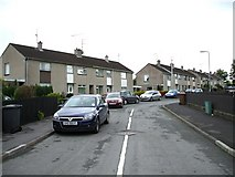 H4573 : Gardenville Terrace, Omagh by Kenneth  Allen