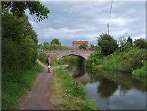 SO8689 : Hinksford Bridge by Gordon Griffiths
