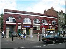 TQ2785 : Belsize Park Station by Robin Sones
