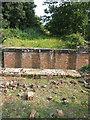 TF9823 : Demolished railway bridge at Broom Green by Zorba the Geek