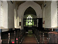 TF9320 : St Margaret's church, Stanfield by Evelyn Simak