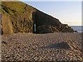SW3523 : Pockmarked sands, Nanjizal beach by Jim Champion
