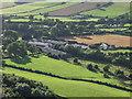 SJ2623 : Modern intensive livestock sheds at Porth-y-waen Farm by John Haynes