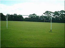 TL1614 : Football Pitch , Folly Fields , Wheathampstead by Gary Fellows