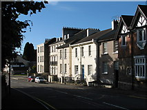 ST5393 : Chepstow - The Moat House by Roy Parkhouse