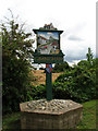 TG2836 : Village Sign, Gimingham by Evelyn Simak
