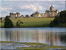 SE7170 : Castle Howard from over the Great Lake by Clive Nicholson
