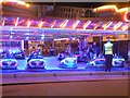 SZ0890 : Dodgems at Pier Approach by Chris Downer