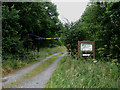TG0422 : Entrance to Foxley Wood by Zorba the Geek