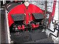 SD8634 : Queen Street Mill - Boiler House by Betty Longbottom