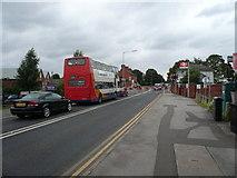 SK7954 : Newark on Trent - B6326 Level Crossing by Alan Heardman