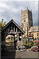 SO9735 : Lych gate and Beckford Church by Philip Halling