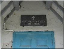 SH5968 : St. Mary's Church Hall by ClockPostcards