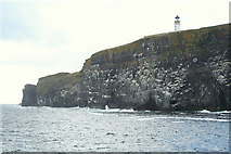 HY6101 : Copinsay Lighthouse en passant. by Des Colhoun