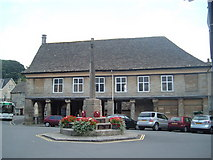 SO8700 : Market House, Minchinhampton by Margaret Sutton