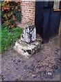 TG0727 : Wayside Cross at Page's Farm by Gareth Hughes