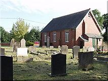 SJ3021 : Primitive Methodist Chapel at Pen-y-Parc by John Haynes