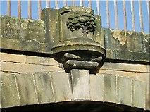 NT2472 : Glasgow coat of arms on Viewforth Bridge by Eileen Henderson