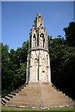 SP7558 : Hardingstone Eleanor Cross by Richard Croft
