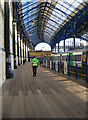 TQ3104 : Platform 9, Brighton Station by Simon Carey