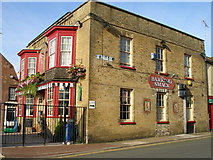 TG5307 : The 'Barking Smack' pub faces out over Marine Parade and marks the beginning of St Peter's Road by Carol Rose