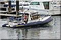 "J5082 : The ""Seaward Shadow"" at Bangor by Albert Bridge"