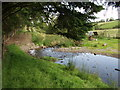 SJ2332 : Ford across a very young Afon Morda by John Haynes