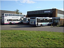 TM2532 : First Eastern National, Harwich Bus Depot by Oxyman