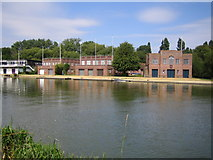 SP5105 : River Thames: University of Oxford boathouses by Nigel Cox