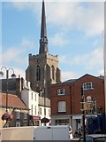 TM0458 : Stowmarket town centre by Andrew Hill
