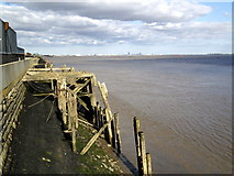 TA0827 : The River Humber Bank near St. Andrew's Dock Entrance by Andy Beecroft