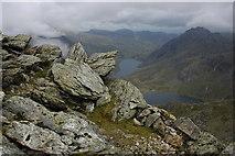 SH6359 : The summit of Y Garn by Philip Halling