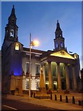 SE2934 : Leeds Civic Hall - Early Morning. by Steve Partridge