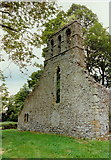 O1470 : Ballygarth church, west gable by Kieran Campbell