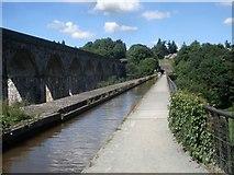 SJ2837 : Chirk Aqueduct by Trevor Rickard