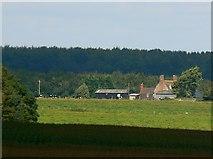 SU2467 : Timbridge Farm, near Marlborough by Brian Robert Marshall