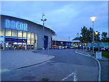 TQ7669 : Chatham Maritime - Odeon and Dickens World (2) by Danny P Robinson