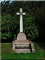 NT8637 : War Memorial-Carham by cathietinn