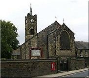 SE0446 : St James' Church - Kirkgate by Betty Longbottom