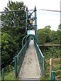 NN9357 : The Sandeman Suspension Bridge by Jonathan Billinger