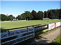 TG2823 : Playing field of the North Walsham RFC by Evelyn Simak