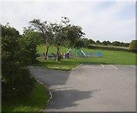 SE1926 : Recreation Ground, Green Lane, Hunsworth by Humphrey Bolton