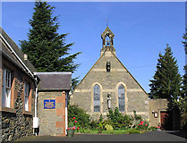 NT4728 : Our Lady and St Joseph Church, Selkirk by Walter Baxter