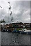 ST6669 : Boatyard at Keynsham by Philip Halling
