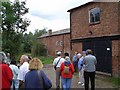 SJ4470 : Visitors at Mickle Trafford Mill by Gareth Hughes