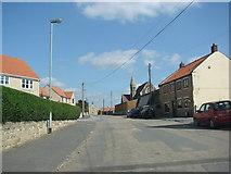 SE4712 : North Elmsall Village street by Bill Henderson