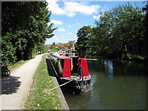 SU4667 : Kennet & Avon Canal, Newbury by Oast House Archive