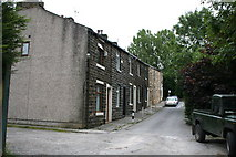SD8632 : Brun Terrace, Burnley, Lancashire by Dr Neil Clifton
