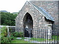 NY1717 : The Parish Church of St James, Buttermere, Porch by Alexander P Kapp